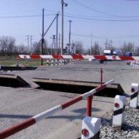 В Нижегородской области электричка протаранила иномарку