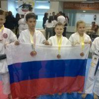 Юные нижегородцы завоевали четыре медали на Кубке Европы по каратэ