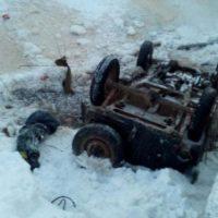Автомобиль упал в реку в Лысковском районе, погиб ребенок