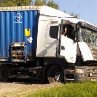 Появились фото ДТП с автобусом и грузовиком в Нижегородской области