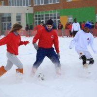 Футбольный матч в валенках сыграли в Нижегородской области