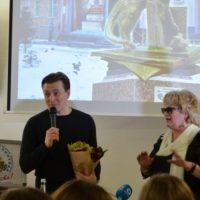 Сергей Безруков посетил Библионочь-2016