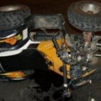 В Нижнем Новгороде девушка на квадроцикле врезалась в дерево