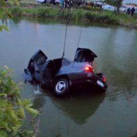 Водитель иномарки погиб, вылетев с дороги в пруд в Сеченовском районе