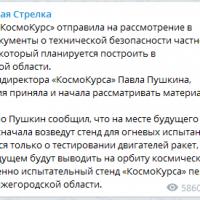 Daily Telegram: реакция на Никитина, рекультивация «Белого моря» и заминка «КосмоКурса»