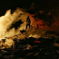 Склад сена сгорел в Нижегородской области