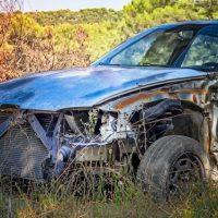 Тойота врезалась в пассажирский автобус в Кстовском районе