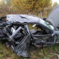 В Нижегородской области водитель «Лады» погиб, врезавшись в Volvo