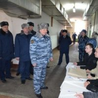Выборы президента РФ прошли в учреждениях исправительной системы Нижегородской области
