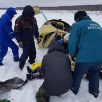 В Нижегородской области автожир совершил жесткую посадку