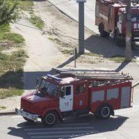 Крупный пожар произошел в городе Бор 14 августа