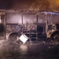 В Нижнем Новгороде сгорели автомобиль и автобус