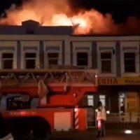 В Нижнем Новгороде из горящего здания эвакуировали 45 человек