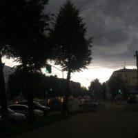 В Нижнем Новгороде на мосту ветром перевернуло «ГАЗель»
