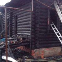 Три человека погибли в результате пожара в частном доме в Ворсме