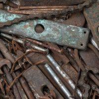 Более тонны металлолома изъяли из нелегального пункта в Нижнем